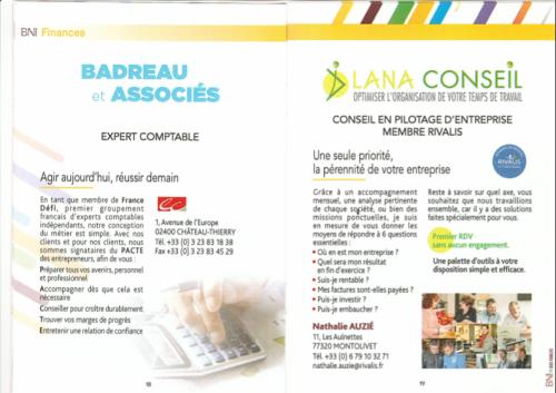 LANA CONSEIL : Conseil en pilotage d'entreprise, Membre RIVALIS