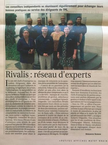 RIVALIS : Un réseau d'expert